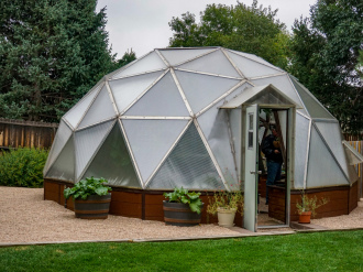 22' Growing Dome Greenhouse