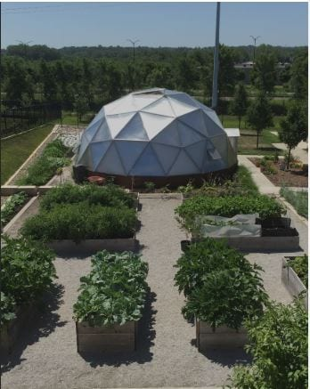 Central Iowa Homeless Shelter Greenhouse
