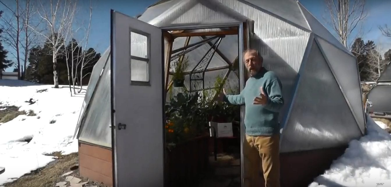 regular greenhouse vs the growing dome