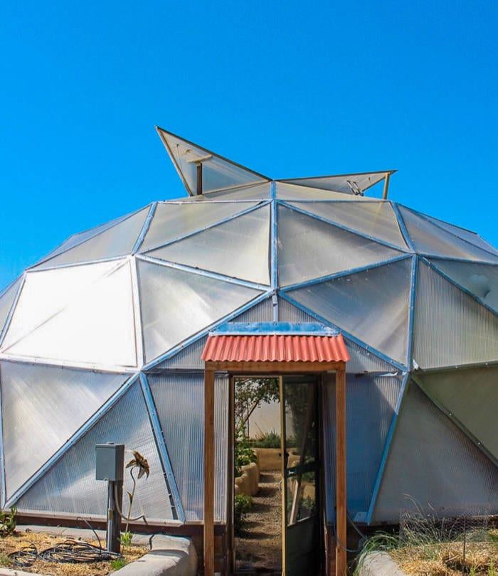 Solar Greenhouse Growing Spaces Geodesic Greenhouse Kits