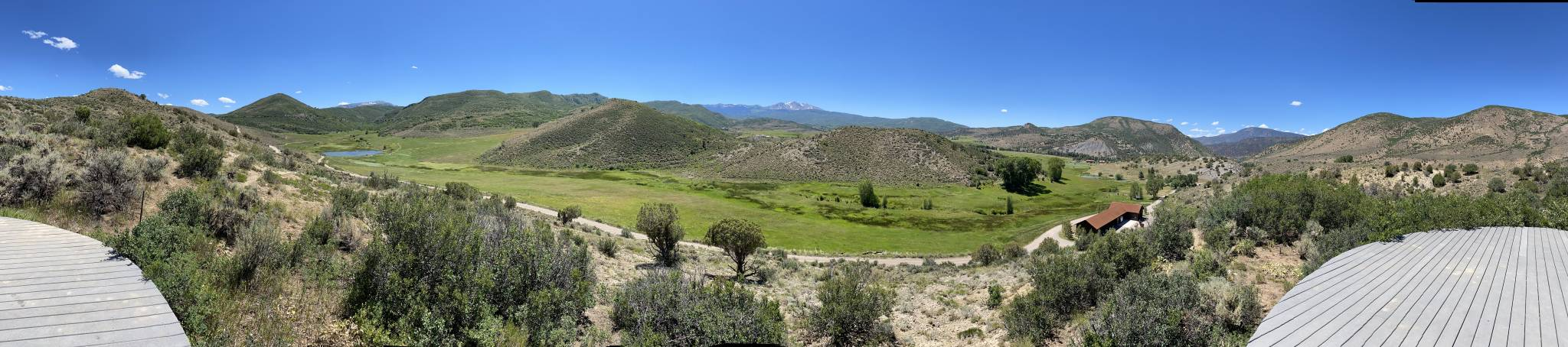 Panoramic View of the Windstar Property