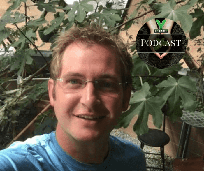 Brian Dillon's 26' Growing Dome Greenhouse was featured in the Y-On-Earth Podcast