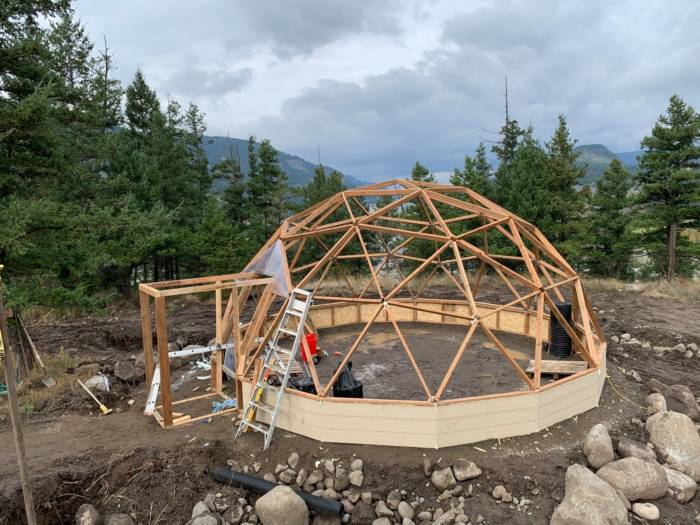greenhouse plan for geodesic frame
