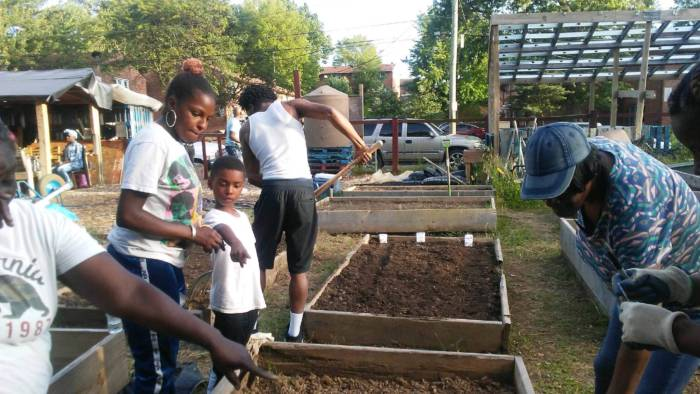 black nickel - more 2021 urban farming grant winners working in the gardens